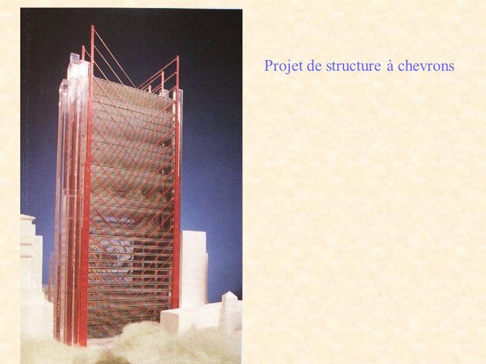 Projet de structure à chevrons