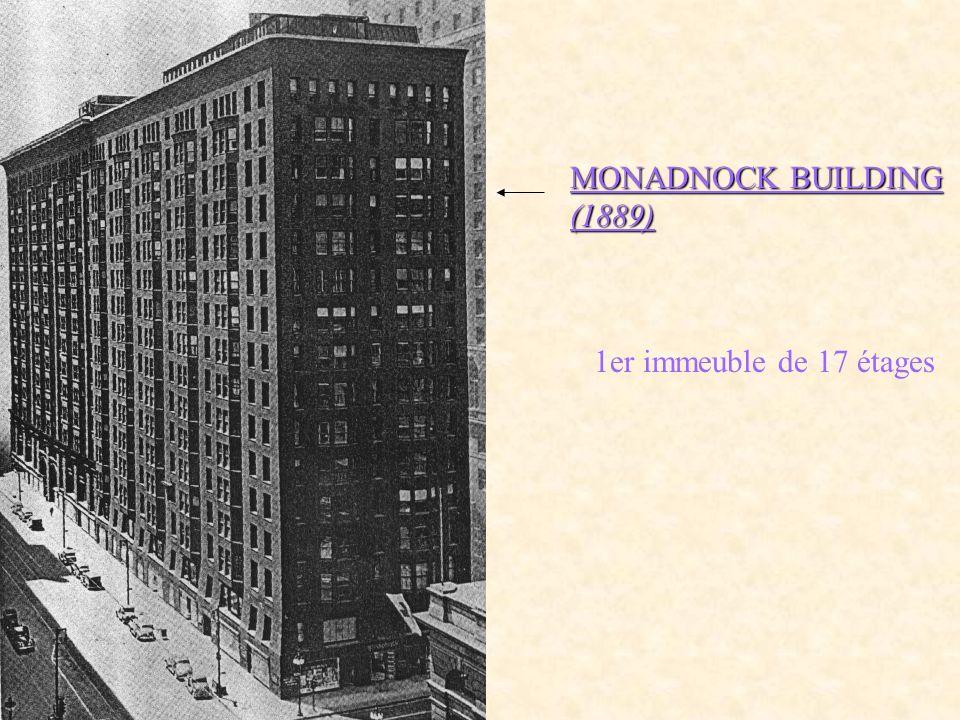 TIMES BUILDING (1904) Eidlitz Structure acier Plus grand immeuble de NEW YORK démoli
