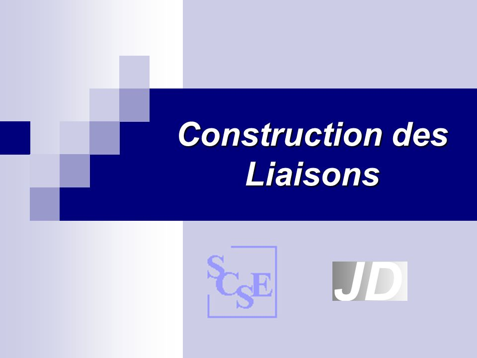 Construction des liaisons Construction des liaisons1 Retour au début Un mécanisme est un ensemble de pièces reliées les unes aux autres par des liaisons cinématiques et ceci dans le but de réaliser une fonction déterminée.