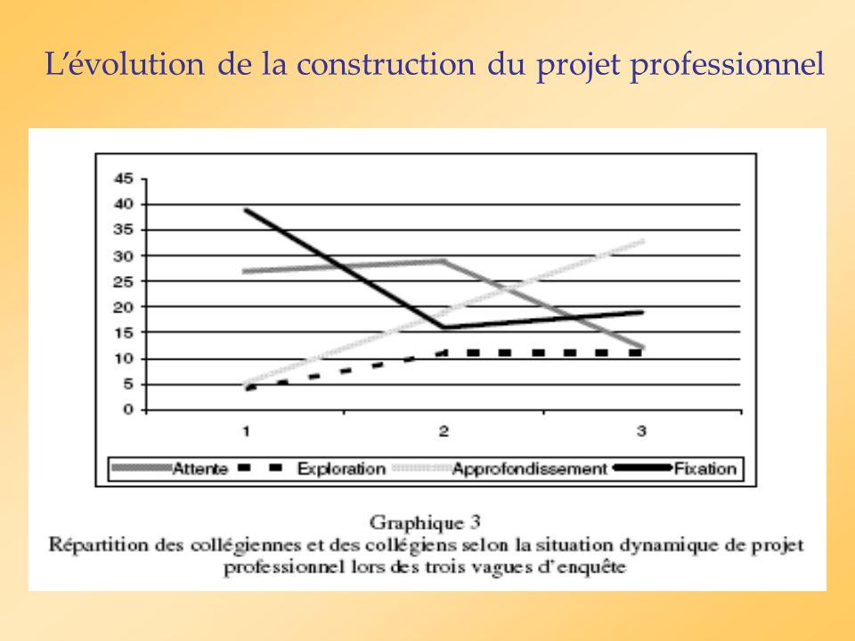 Conclusion Le projet professionnel: une construction de sens dynamique et évolutive.