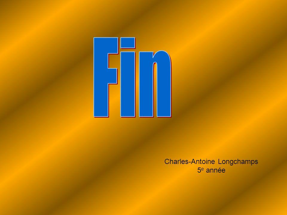 Charles-Antoine Longchamps 5 e année