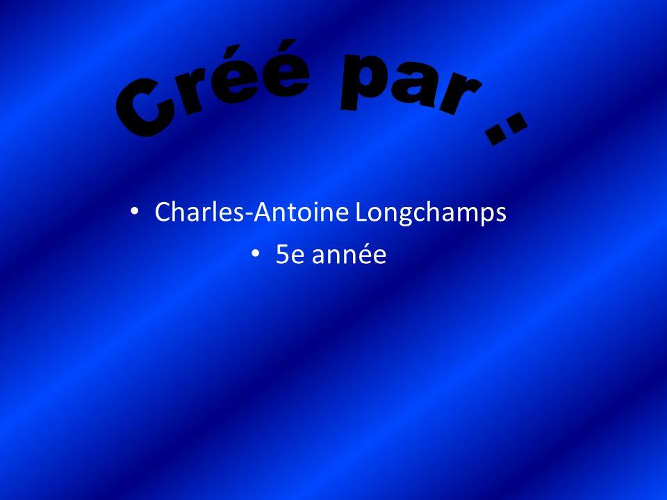 Charles-Antoine Longchamps 5e année