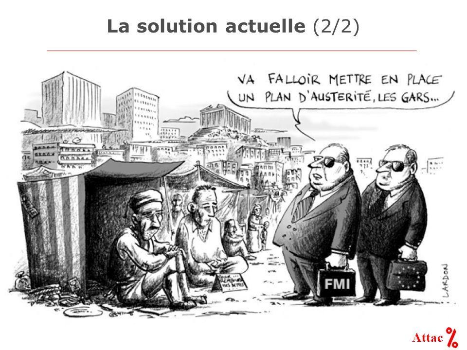 (Honoré Daumier, Gargantua, 1831) Attac La dette de tous fait la rente de quelques-uns