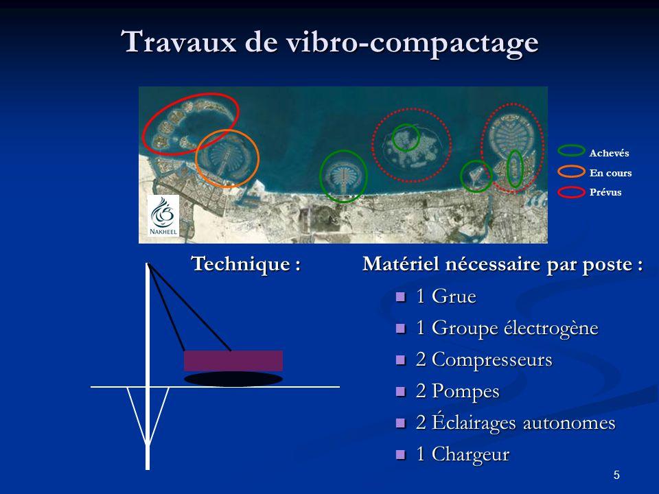6 Chantier « PALM JEBEL ALI » Le Palm : 7 7 km de diamètre, > > 10 millions de m2, 3 390 millions dEuros.