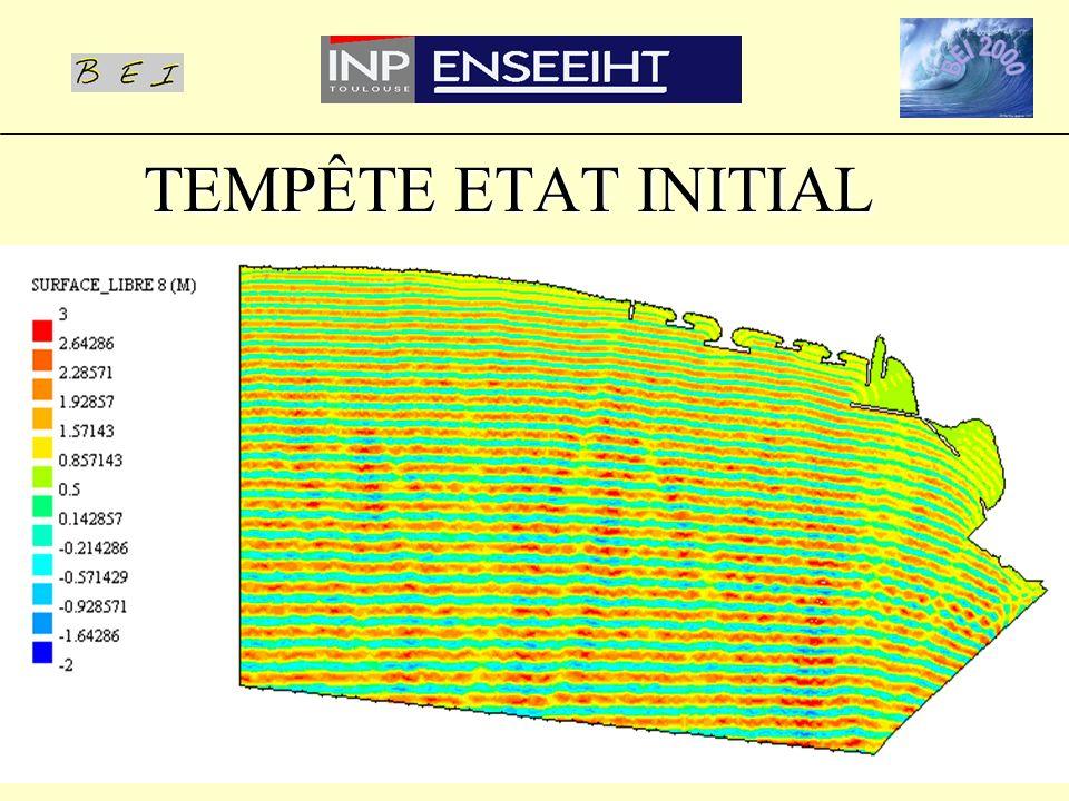 TEMPÊTE ETAT INITIAL