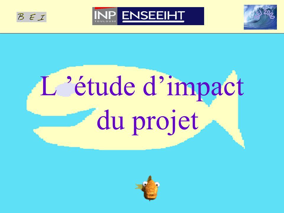 L étude dimpact du projet