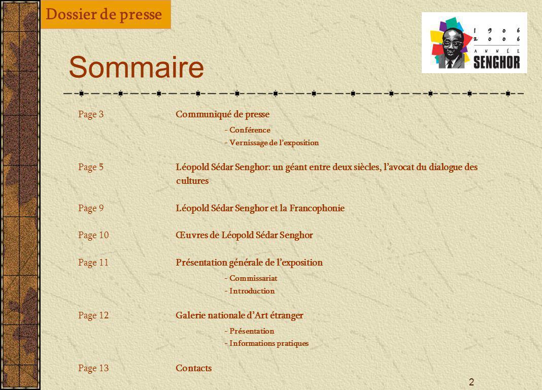 1 2006, Année Senghor La Bulgarie célèbre le Père fondateur de la Francophonie 5 décembre 2006 Conférence, exposition, interventions à Sofia Académie