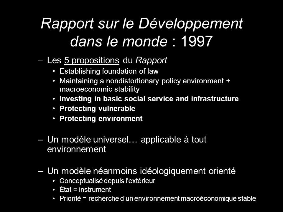 « Léquité » et la construction dun nouveau cadre normatif