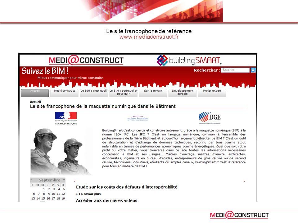 Le site francophone de référence www.mediaconstruct.fr
