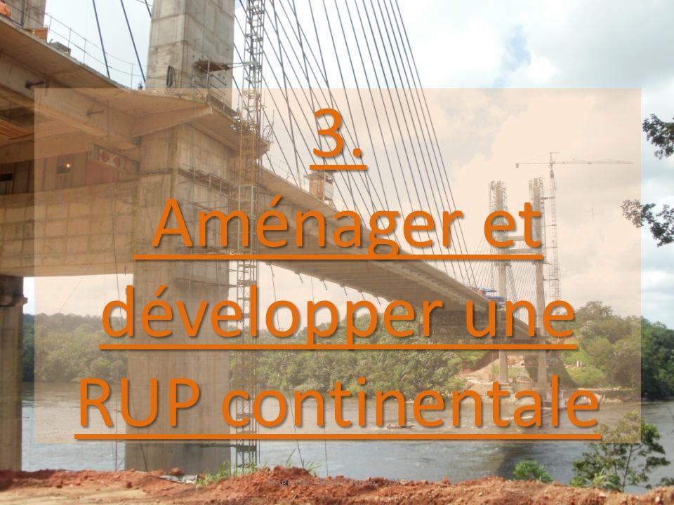 3. Aménager et développer une RUP continentale Stage Géo de la Guyane - 2013