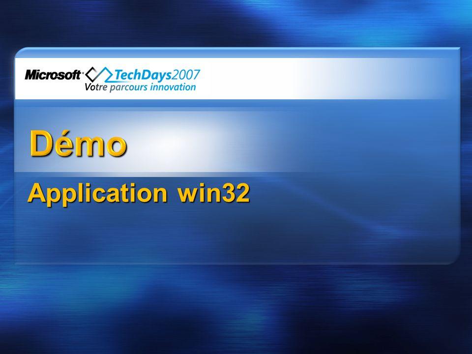 Application win32