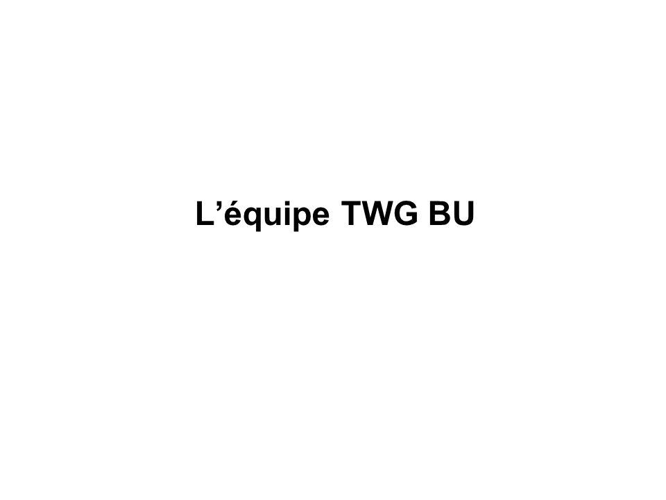 Léquipe TWG BU