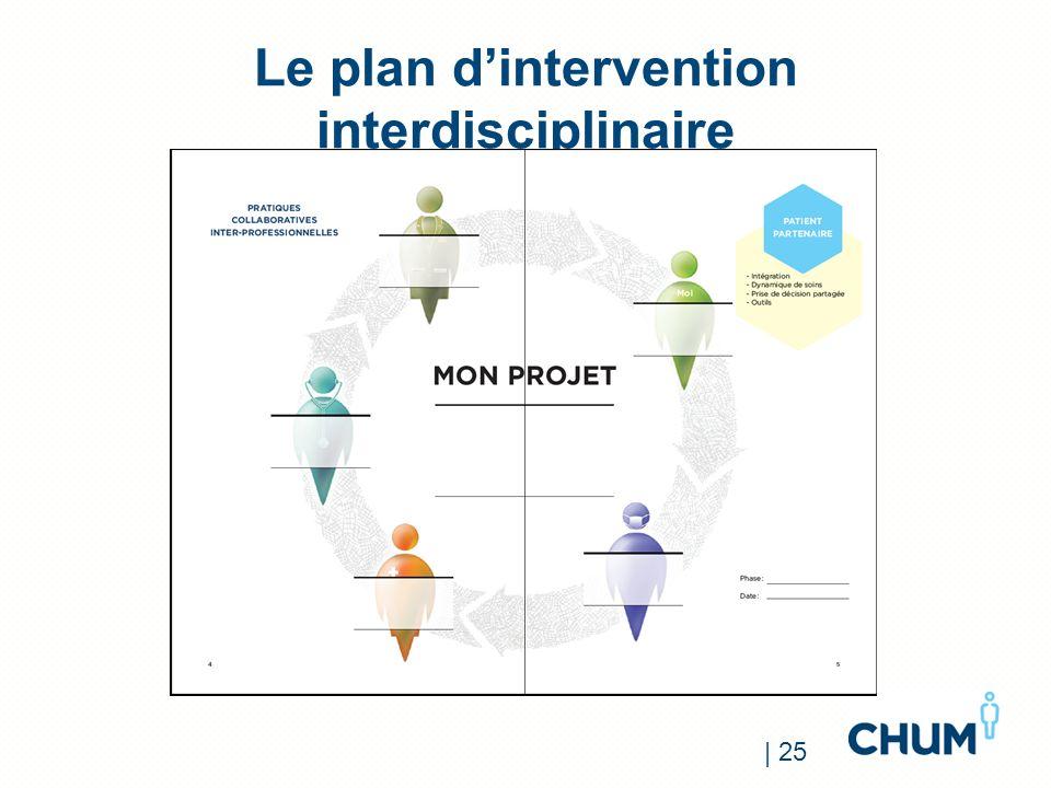 Le plan dintervention interdisciplinaire | 25