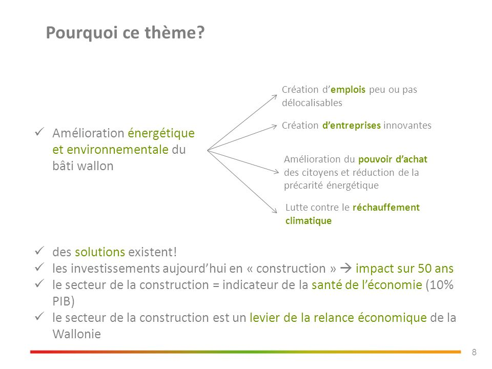 29 2. R ENFORCER LE SECTEUR DE LA CONSTRUCTION
