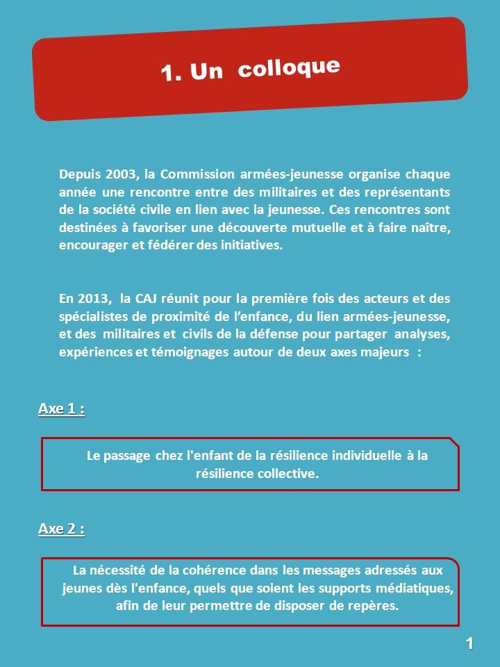 Depuis 2003, la Commission armées-jeunesse organise chaque année une rencontre entre des militaires et des représentants de la société civile en lien avec la jeunesse.