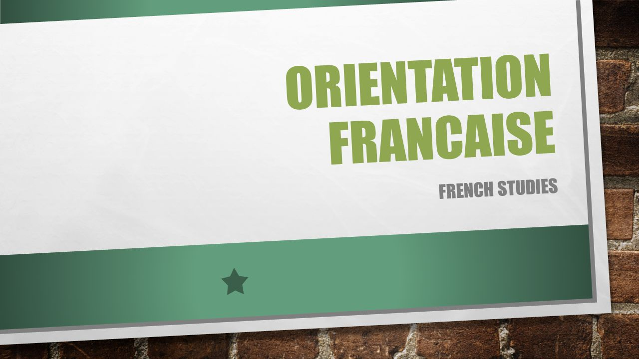 ORIENTATION FRANCAISE Karine GAULTIER Gaultierk@rochambeau.org HORAIRES DACCUEIL: Lundi, Mardi, Jeudi8h30 – 17h00 Monday, Tuesday and Thursday8:30 am – 5:00 pm