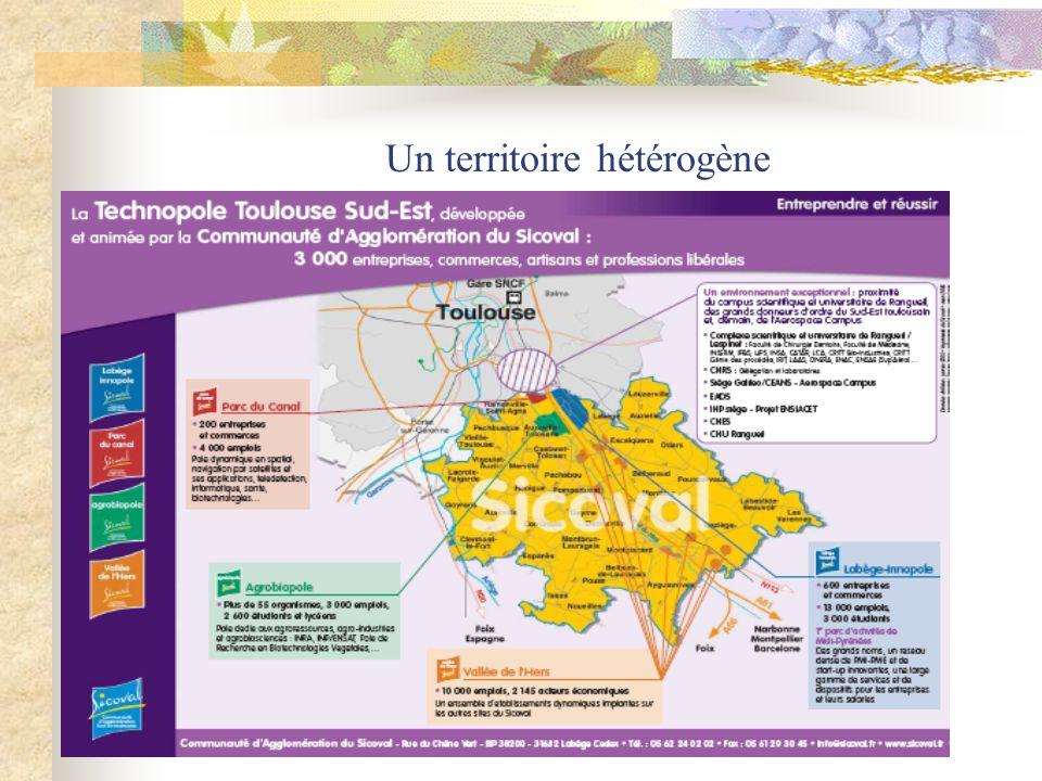 Un territoire hétérogène