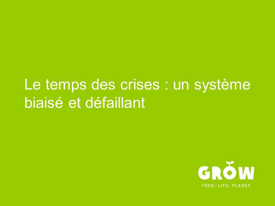 Le temps des crises : un système biaisé et défaillant