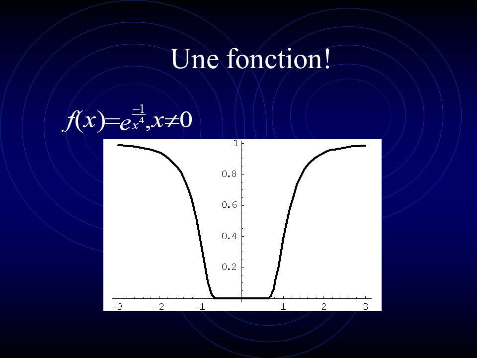 Continuité f est continue en a dom f si *x a, f(*x) f(a) ou encore st(*x) = a => st(f(*x)) = f(a) Les fonctions x, sin x, cos x et e sont continues en a R; ln x est continue en b réel positif