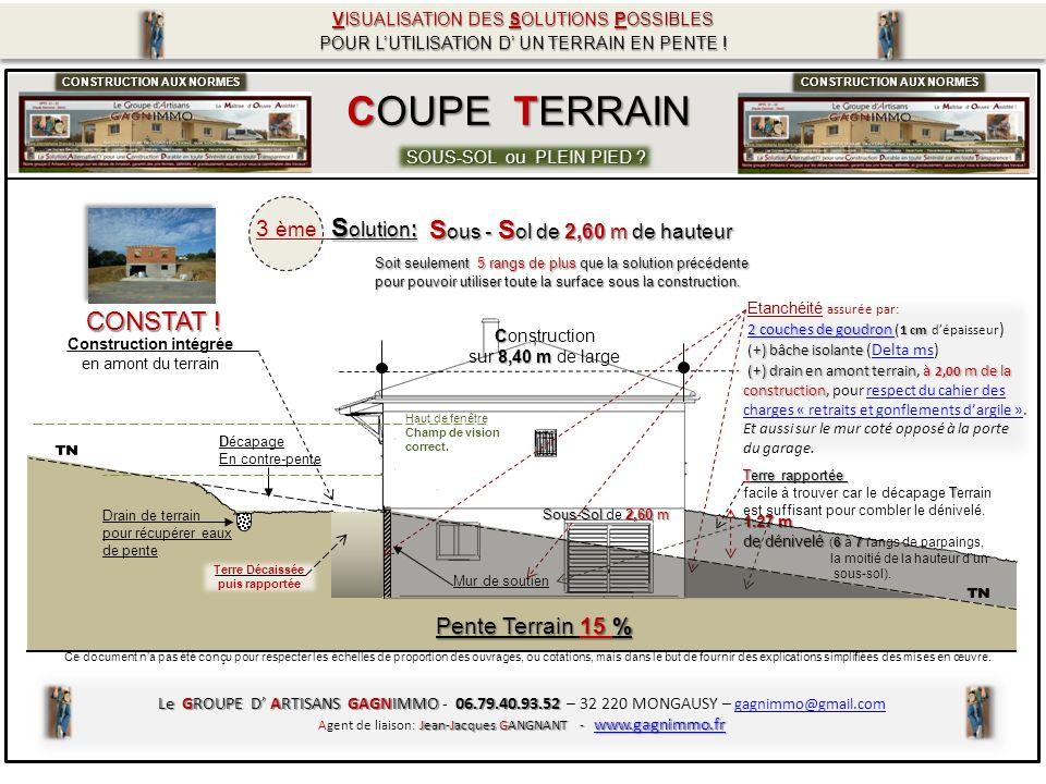 COUPE TERRAIN Comparatif Solutions .