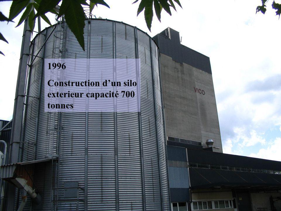 1996 Construction dun silo exterieur capacité 700 tonnes