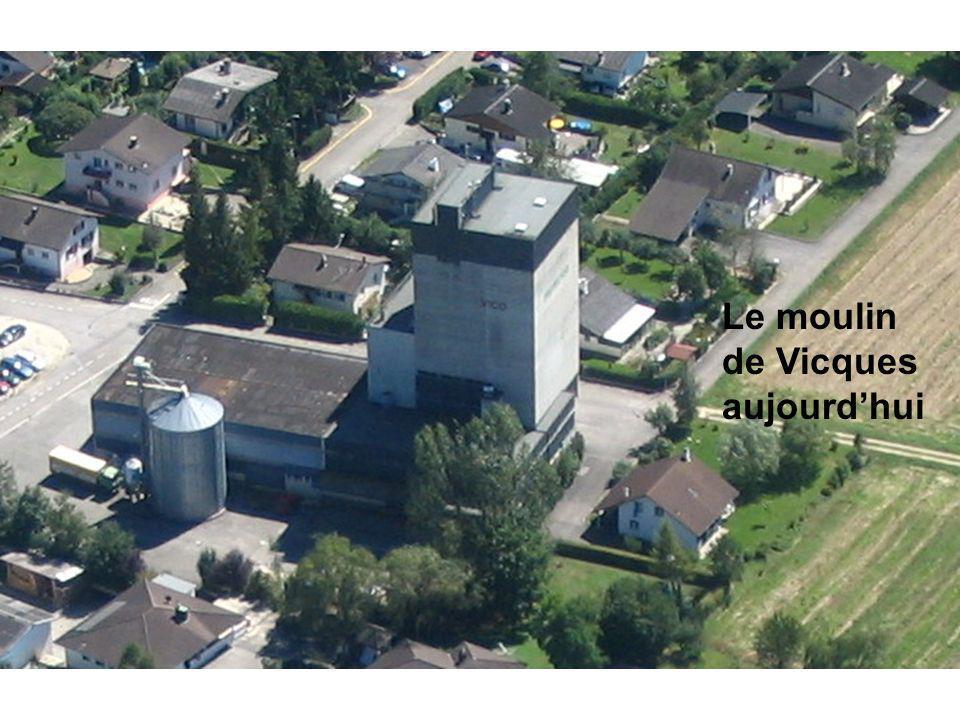 Le moulin de Vicques aujourdhui