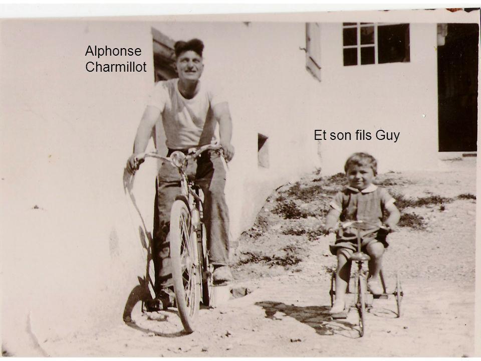 Alphonse Charmillot Et son fils Guy