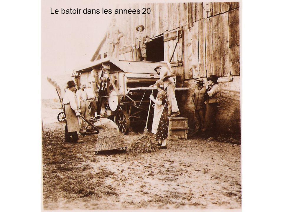 Le batoir dans les années 20