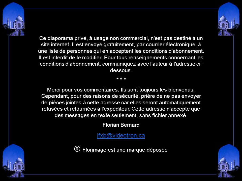 I Have a Dream - Richard Clayderman Création Florian Bernard Tous droits réservés – 2005 jfxb@videotron.ca