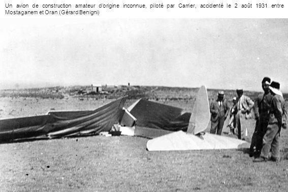 Les frères Jamme Après avoir été mécanicien militaire, Eugène Jamme retrouve lentreprise familiale de charronnage à Mascara (ci-contre en 1905) et se lance avec son frère Marcel dans la construction amateur.