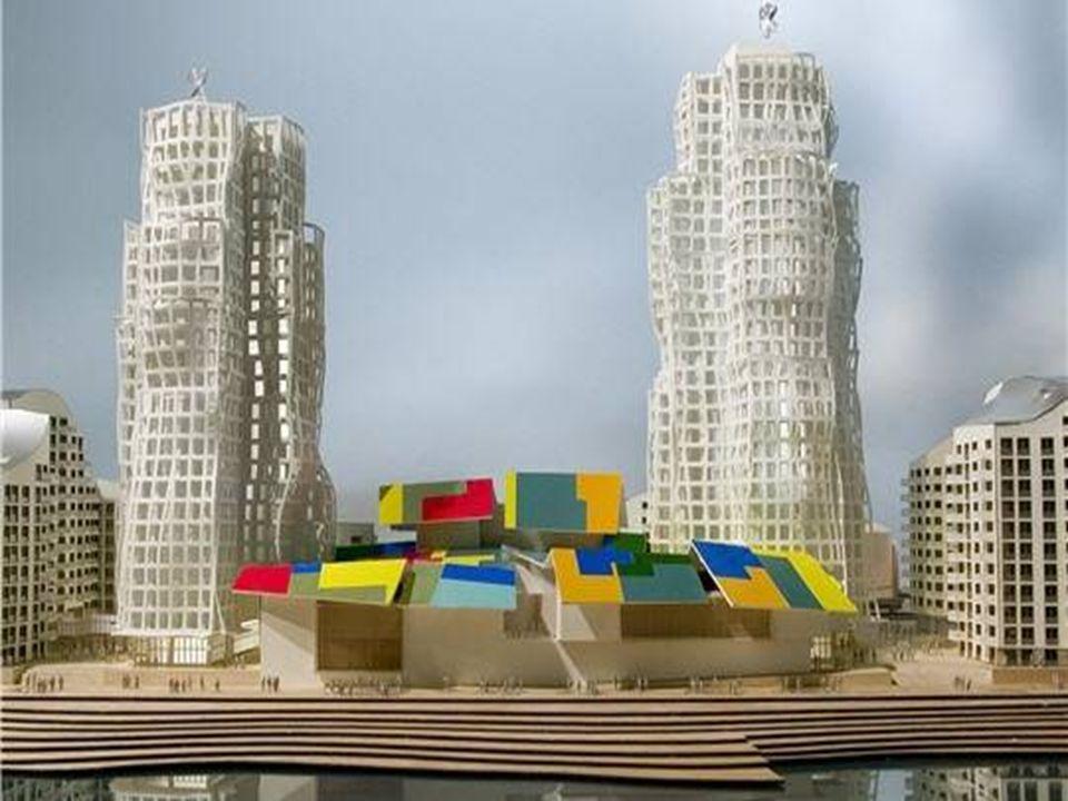 Le King Alfred Center de Hove Voici le King Alfred Center dessiné par l'architecte Franck Gehry pour le front de mer de Hove, en Grande Bretagne. Un b