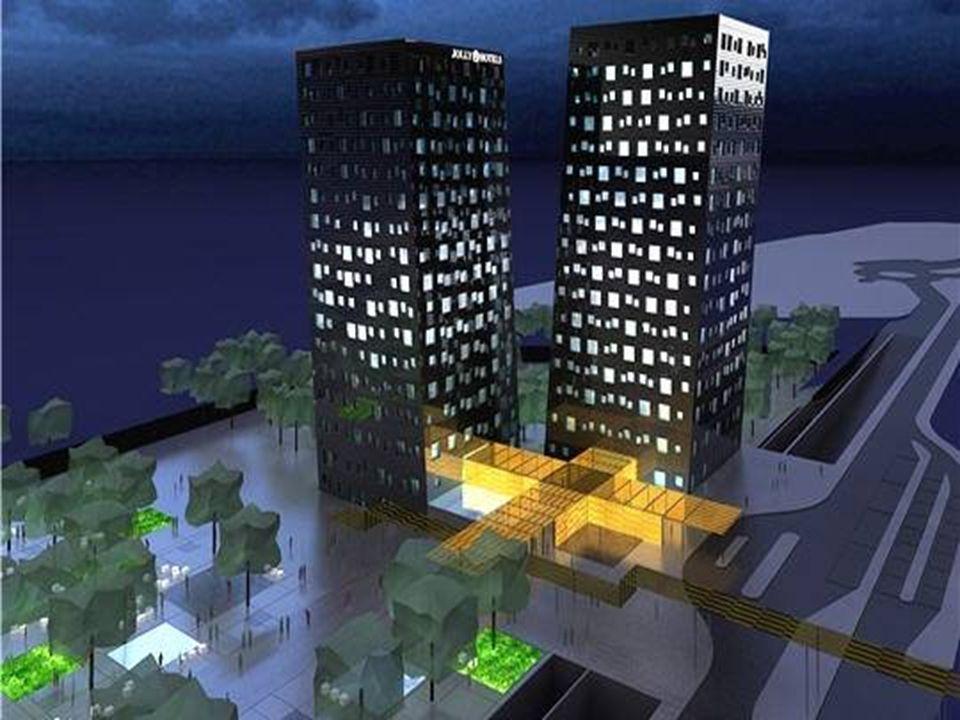 Tours de Pise à Milan Dominique Perrault a dessiné de véritables tours de Pise pour accueillir hôtels, salles de conférence et restaurants à Milan. Le