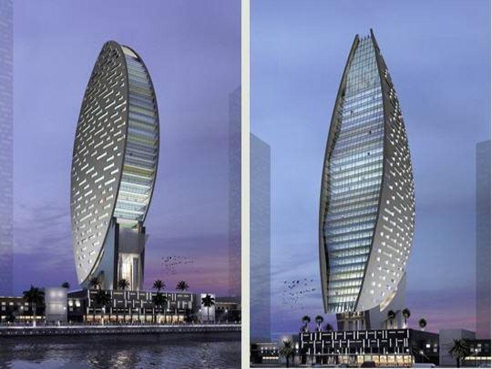 L'Iris Bay de Dubaï Les travaux de l'Iris Bay de Dubaï ont commencé à l'automne 2006. Dessinée par l'agence d'architectes Atkins, cette tour de 170 m