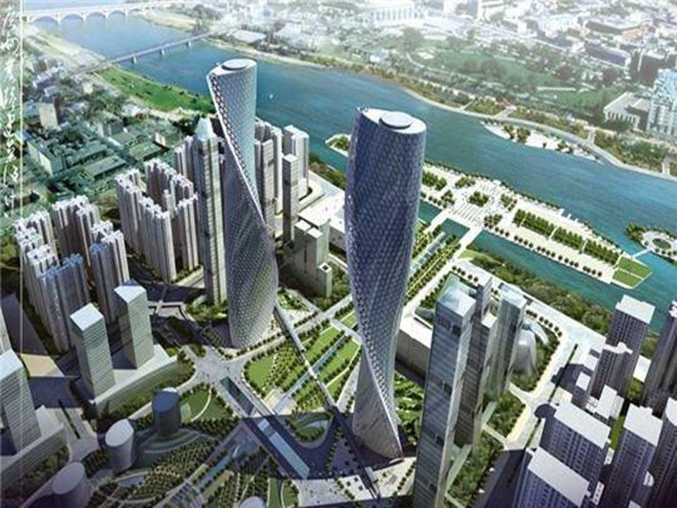 Tours jumelles de Canton Ces deux tours prévues pour être construites à Canton (Chine) ont été conçues par Hervé Tordjman. L'architecte français a con