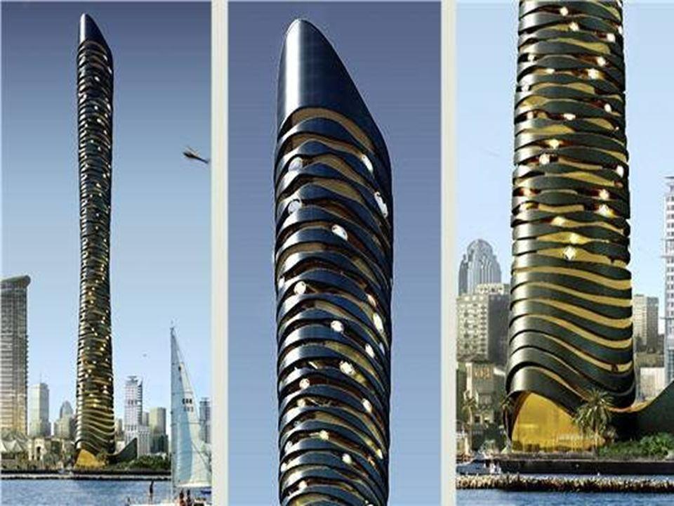 L'Infinity Tower de Dubaï Cette tour, conçue par la firme internationale Dos Arquitectos, aura toutes les caractéristiques d'un bâtiment écologique :