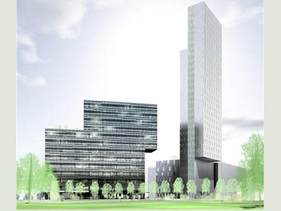 L'Hôtel Habitat Sky de Barcelone Imaginé par Dominique Perrault, l'Hôtel Habitat Sky, commandé en 1999, devrait être achevé en 2008. Il comprendra 257
