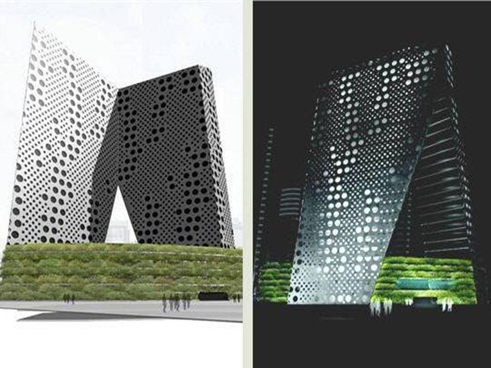 La Tour Diaogutay de Pékin La Tour Diaoyutai, à Pékin, a été achevée en 2006. Dessinée par Bernard Tschumi, elle est caractérisée par sa proue en port