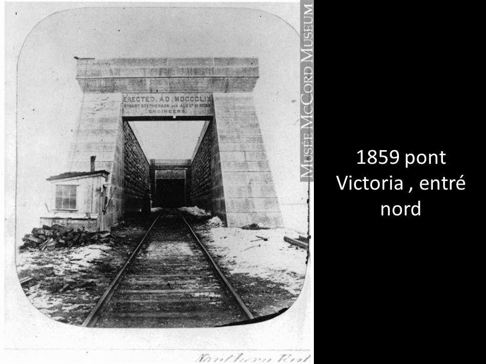 Pont du CN rue Bridge et Wellington