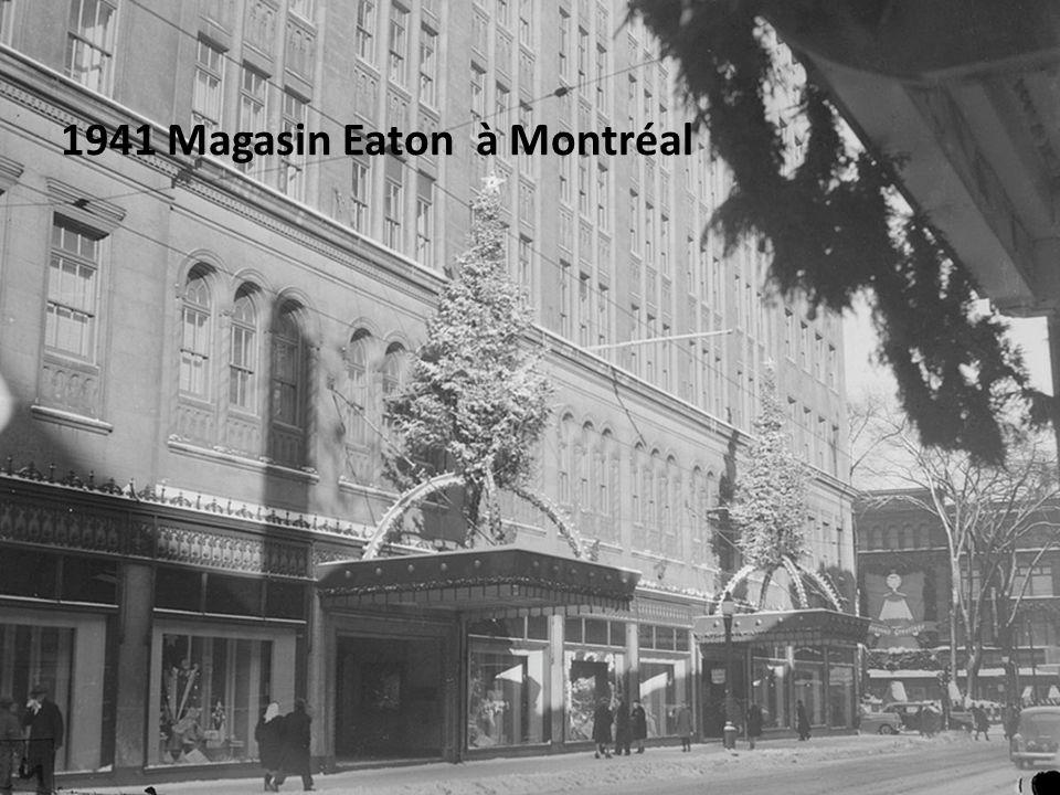 1937 vue du poste dobservation du Mont Royal