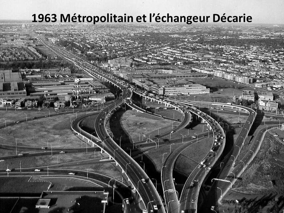1963 Boul. Dorchester devenu René- Lévesque en 1987