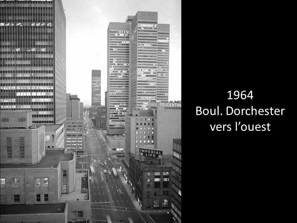 1963 Métropolitain et léchangeur Décarie