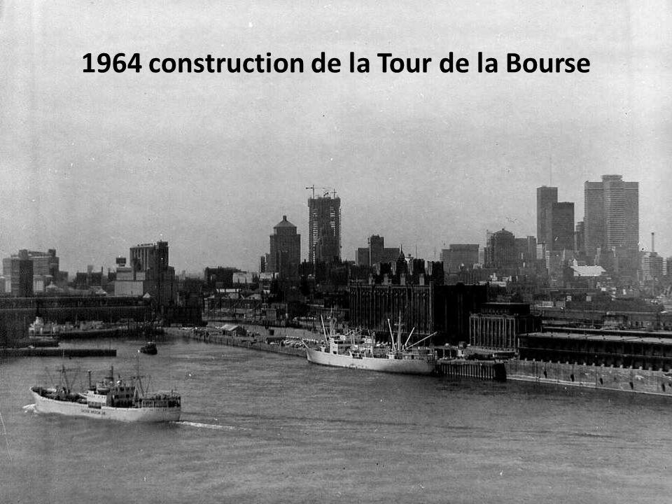 1964 construction du Métro Berri