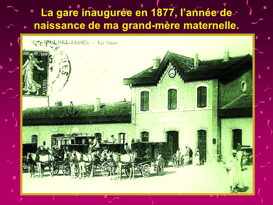 La mairie où fut reçu lempereur Napoléon III en 1865.