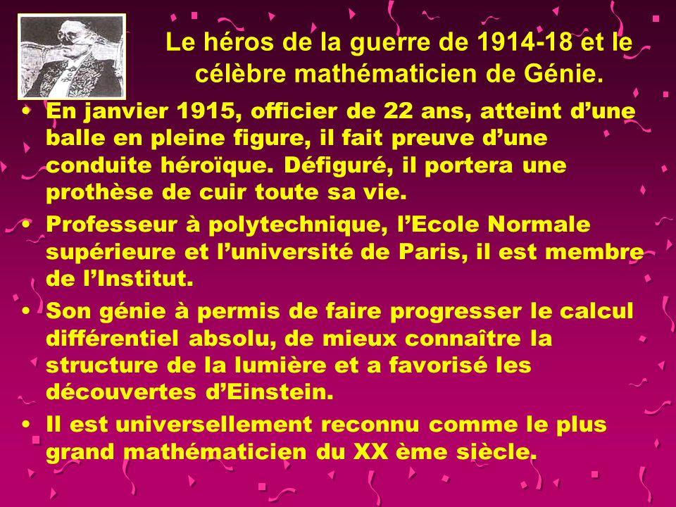 Gaston Julia (1893-1978) Fils dun artisan mécanicien sur machines agricoles, toujours premier de sa classe il obtient une demi bourse au lycée dOran.