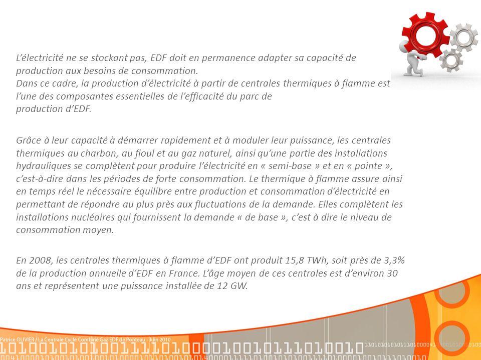 Depuis 2002, la centrale est certifiée ISO 14001.