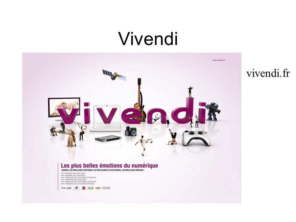 Vivendi vivendi.fr