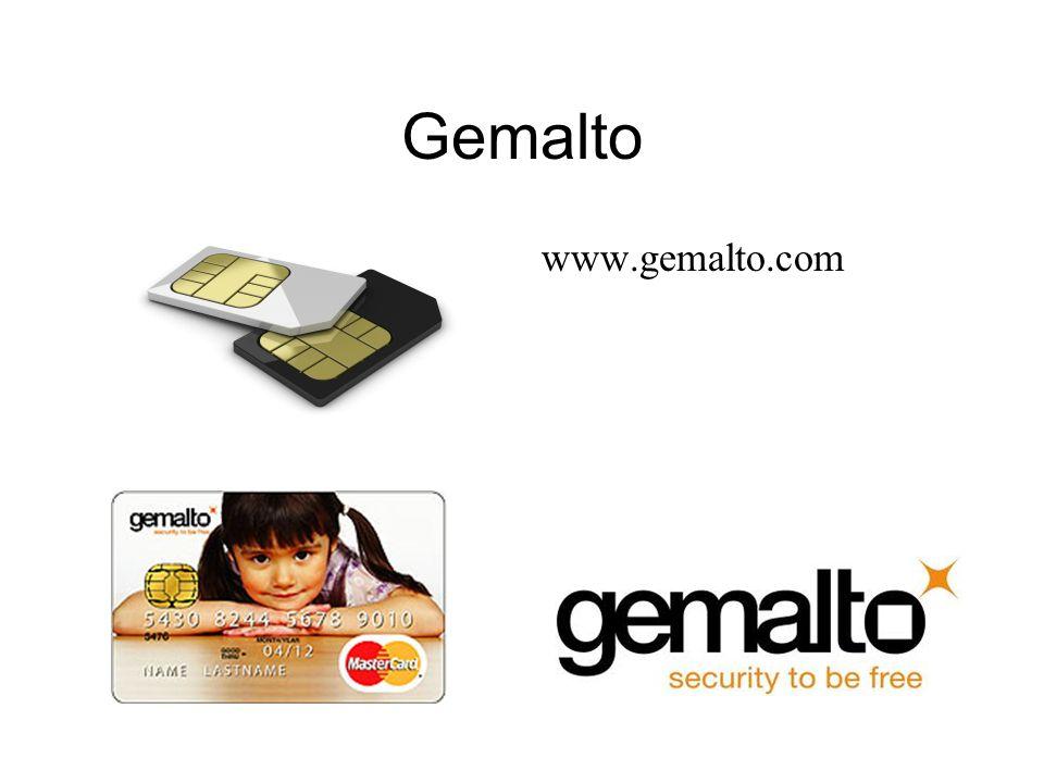 Gemalto www.gemalto.com