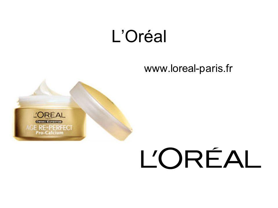 LOréal www.loreal-paris.fr