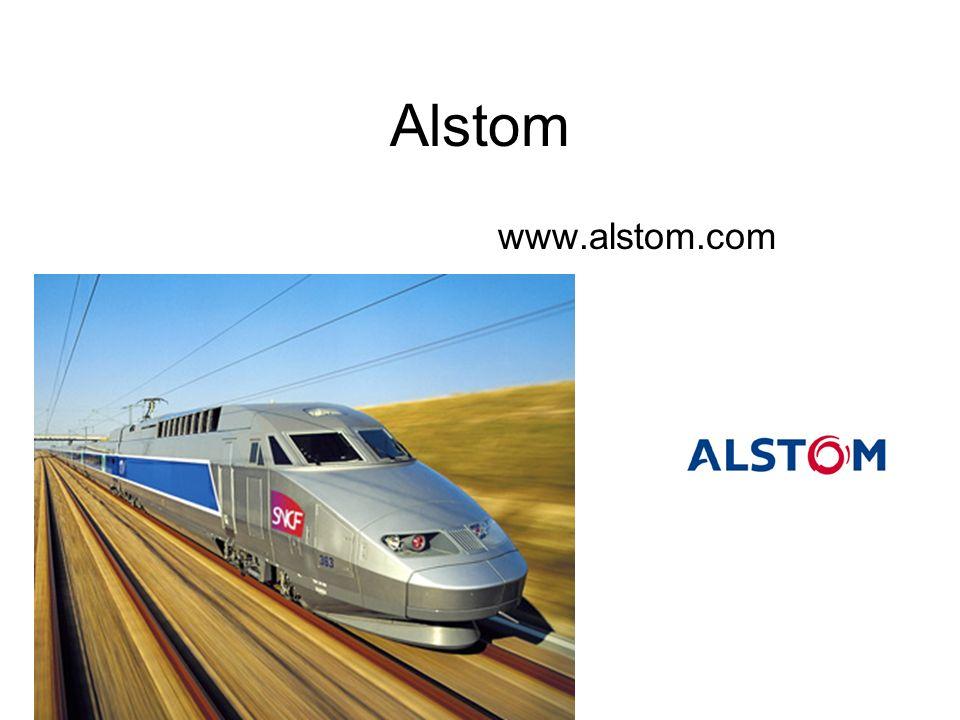 Alstom www.alstom.com
