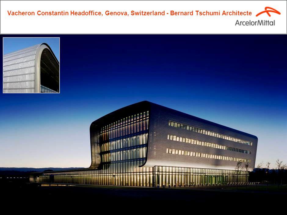 19 Vacheron Constantin Headoffice, Genova, Switzerland - Bernard Tschumi Architecte
